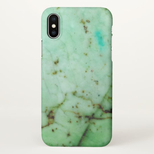 Gemstone Series - Green Jade iPhone X Case