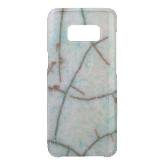Gemstone Series - Light Turquoise Cracked Uncommon Samsung Galaxy S8 Case