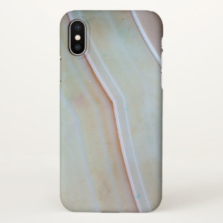 Gemstone Series - Polished Agate iPhone X Case
