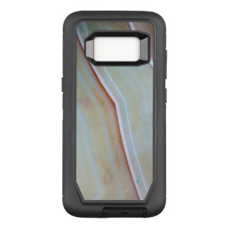 Gemstone Series - Polished Agate OtterBox Defender Samsung Galaxy S8 Case