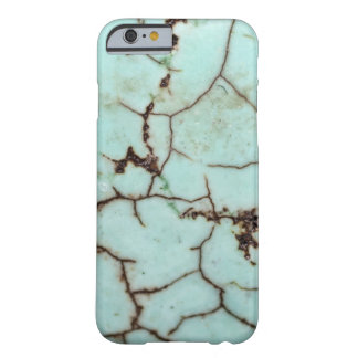 Gemstone Series - Turquoise Cracked Barely There iPhone 6 Case