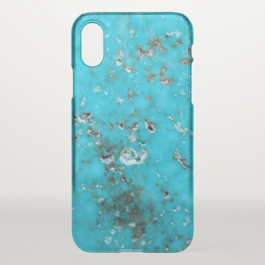 Gemstone Series - Turquoise iPhone X Case
