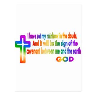 Gen 9:13 postcard