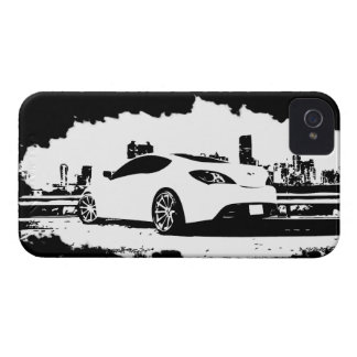 Gen Coupe Rear shot iPhone 4 Covers