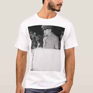 Gen. Douglas MacArthur addressing_War Image T-Shirt