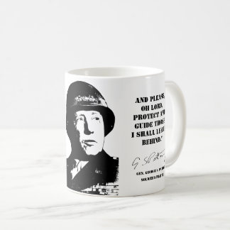 Gen. George Patton: Soldier's Prayer Coffee Mug