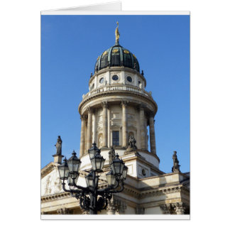 Gendarmenmarkt, French Church (Französischer Dom) Card