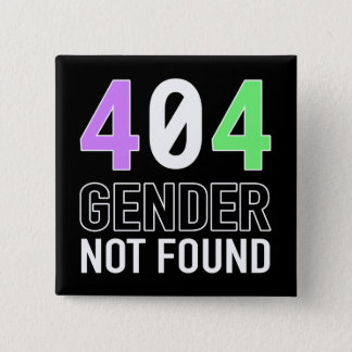 Gender 404 Button