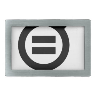 Gender Equality Symbol Belt Buckle
