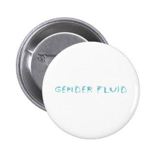 Gender fluid 6 cm round badge