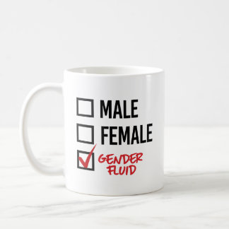 Gender Fluid - Don't worry about my gender - - LGB Coffee Mug