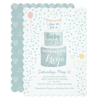 Gender Neutral Baby Shower Invitation - Baby Cakes