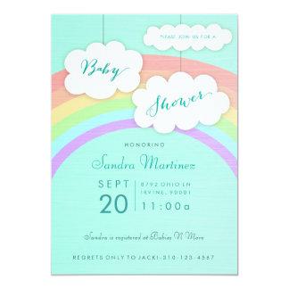 Gender Neutral Rainbow | Baby Shower Invitation