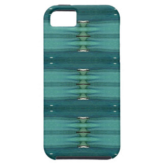 Gender Neutral Shades of Blue Modern Pattern iPhone 5 Case