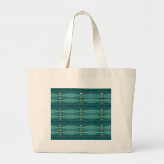 Gender Neutral Shades of Blue Modern Pattern Large Tote Bag