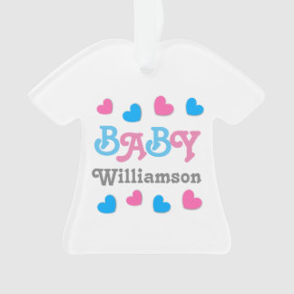 Gender Reveal Baby Shower Hearts Collection A19