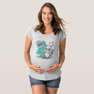 Gender Reveal Maternity T-Shirt - Boy!