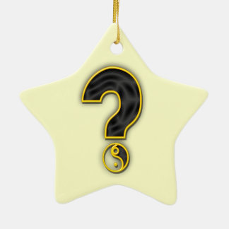 Gender Reveal Party Ceramic Ornament