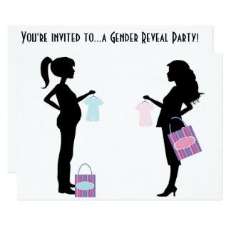 "Gender Reveal Party Invitation Matte 5"" x 7"""