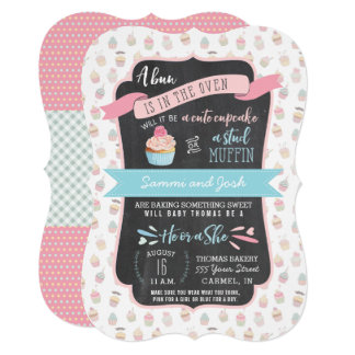 Gender Reveal Party or Shower Invitations