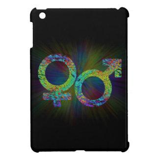 Gender symbols. iPad mini cover