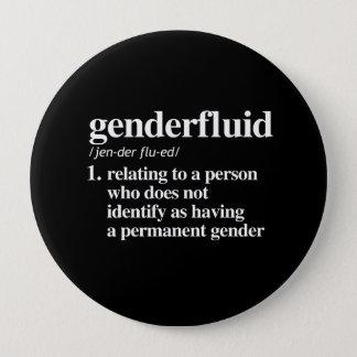 genderfluid definition - defined lgbtq terms - LGB 10 Cm Round Badge