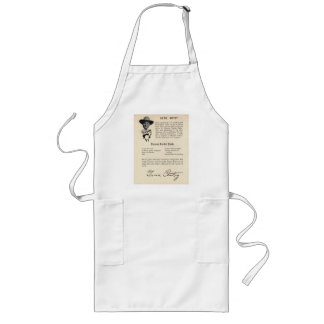 Gene Autry Broiled Steaks Long Apron