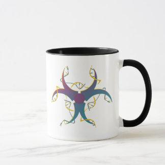 Gene Splicing Bio Hazard Symbol Mug