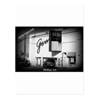 GENE THEATER - McRae, Georgia Postcard