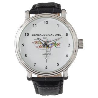 Genealogical DNA Inside (Genealogist Attitude) Wristwatch