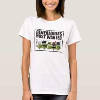 Genealogies Most Wanted T-Shirt