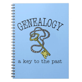 Genealogy A Key To The Past Spiral Notebook