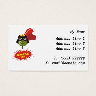 Genealogy Girl Business Card - Customize