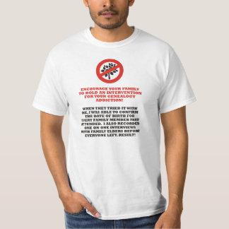 Genealogy Intervention T Shirt