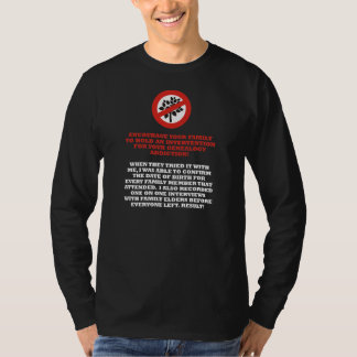 Genealogy Intervention T Shirts