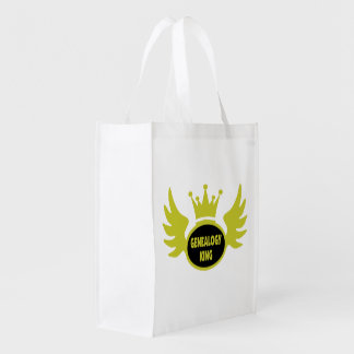 Genealogy King Reusable Grocery Bag