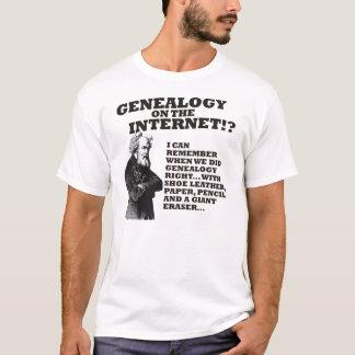Genealogy On The Internet? T-Shirt