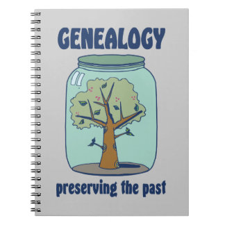 Genealogy Preserving The Past Notebook