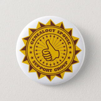 Genealogy Spouse Support Group 6 Cm Round Badge