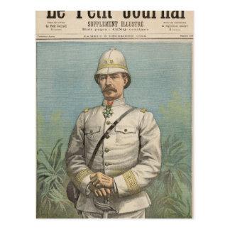 General Alfred Amedee Dodds  in Dahomey Postcard
