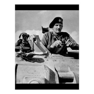 General Bernard L. Montgomery watches_War Image Poster