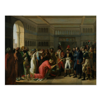 General Bonaparte Giving a Sword to the Postcard