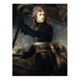 General Bonaparte  on the Bridge at Arcole Postcard