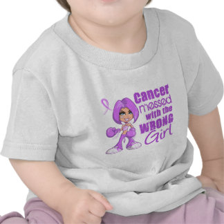 General Cancer Messed With Wrong Girl Shirt