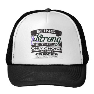General Cancer Strong is The Only Choice Mesh Hats