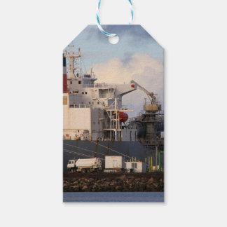 General cargo ship gift tags