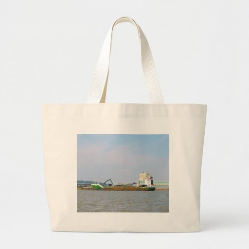 General Cargo Ship Visurgis Tote Bags