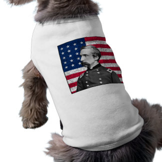 General Chamberlain and The American Flag Sleeveless Dog Shirt