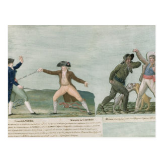 General Charles Lameth  and Charles Eugene Postcard