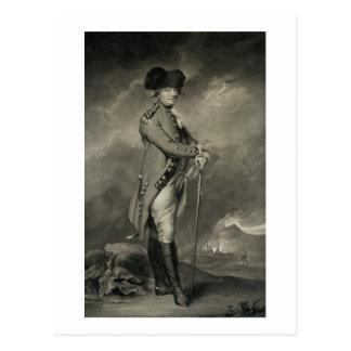 General Cornwallis (1738-1805) engraved by John Jo Postcard